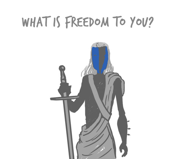 mm freedom - What is freedom to you?